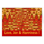 Love, Joy & Happiness Greeting Cards