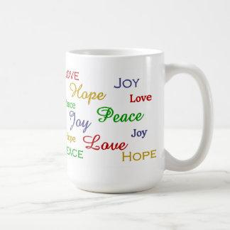 Love, Joy, Hope, Peace Mug