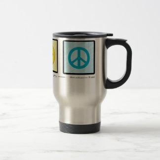 Love Joy Peace Christian travel mug