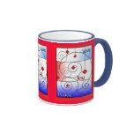 Love, Joy, Peace Christmas Mug