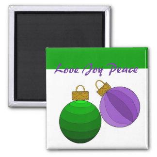 Love Joy Peace - magnet Magnet