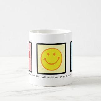 Love Joy Peace mug