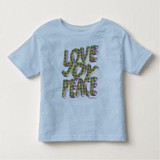 love joy peace toddler t-shirt