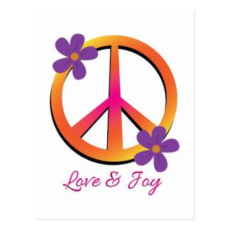 Love & Joy Postcard