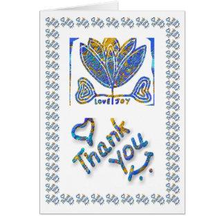 Love Joy - Thankyou Thank You Greeting Card