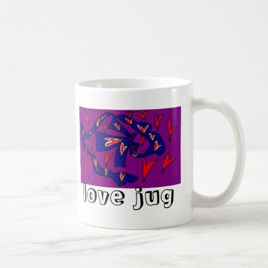 love jug coffee mug