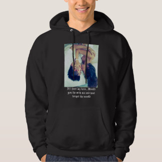 """Love: """"just forget the world"""" Hoodies by RR"""