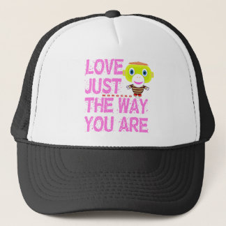 Love Just The Way You Are-Cute Monkey-Morocko Trucker Hat
