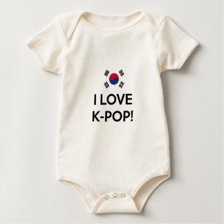 Love K-Pop! Baby Bodysuit