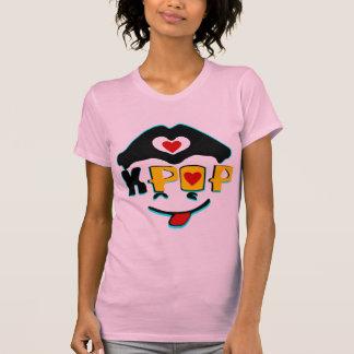 ♪♥Love K-Pop Ladies Twofer Sheer Fitted T-Shirt♥♫ T Shirt