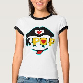 ♪♥Love K-Pop Ladies Vintage-feel Ringer T-Shirt♥♫ T-Shirt