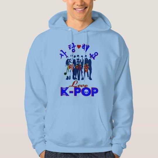 ♪♥Love K-Pop Stylish Basic Hooded Sweatshirt♥♫ Hoodie