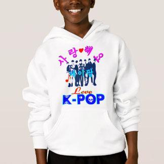 ╚»♪♥Love K-Pop Stylish Kids Hooded Sweatshirt♥♫«╝ Hoodie