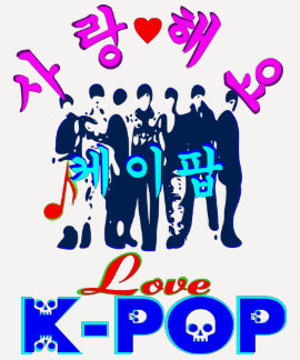 ╚»♪♥Love K-Pop Stylish Raglan Baseball T-Shirt♥♫«╝ Shirts