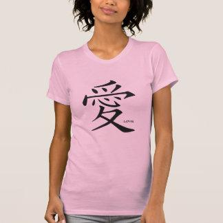 love kanji camisole t-shirt
