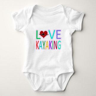 Love Kayaking Baby Bodysuit