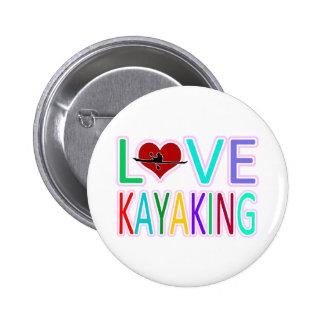 Love Kayaking Pin