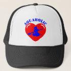 Love Kayaking Girl Trucker Hat