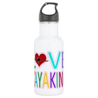 Love Kayaking Water Bottle