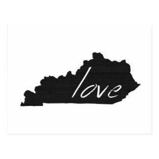 Love Kentucky Postcard