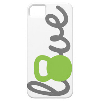 Love Kettlebell Green iPhone 5 Covers