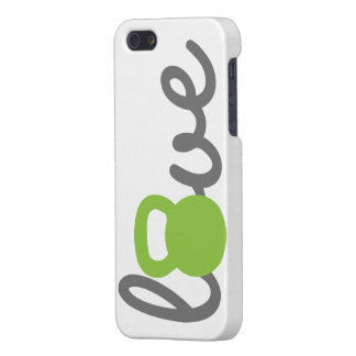 Love Kettlebell Green iPhone SE/5/5s Case