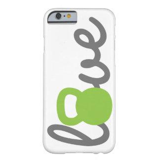 Love Kettlebell Green Phone Case