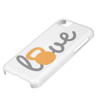 Love Kettlebell Orange iPhone 5C Cover