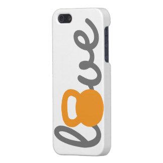 Love Kettlebell Orange iPhone SE/5/5s Case