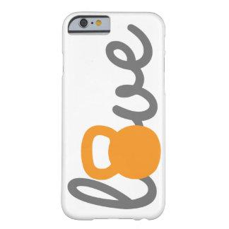 Love Kettlebell Orange Phone Case