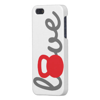 Love Kettlebell Red iPhone 5 Covers