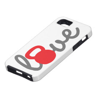 Love Kettlebell Red iPhone SE/5/5s Case