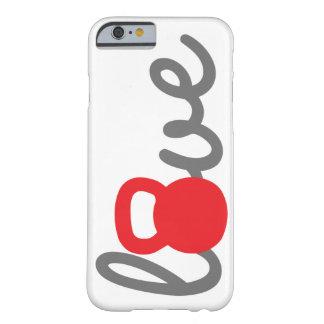 Love Kettlebell Red Phone Case