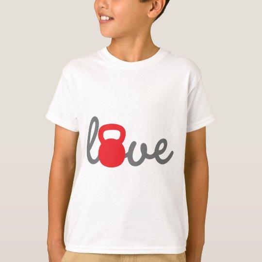Love Kettlebell Red T-Shirt
