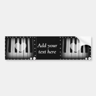 Love Keys_ Car Bumper Sticker