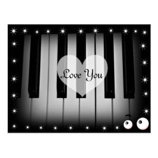 Love Keys_ Postcard