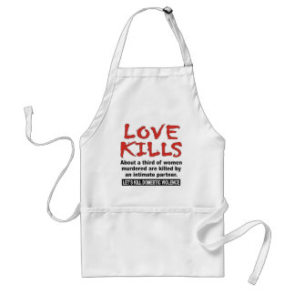 Love Kills Adult Apron