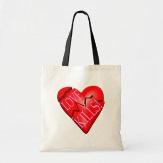 Love Kills Budget Tote Bag