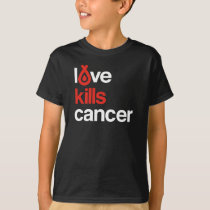 Love Kills Cancer - Kid's Tee