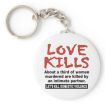 Love Kills Keychain