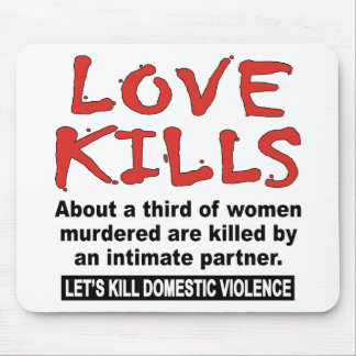 Love Kills Mouse Pads