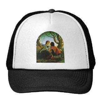 Love kiss romantic couple medieval sword Hesperus Trucker Hat