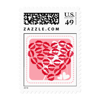 Love Kisses Postage Stamps