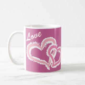 Love Kissing Hearts Mug