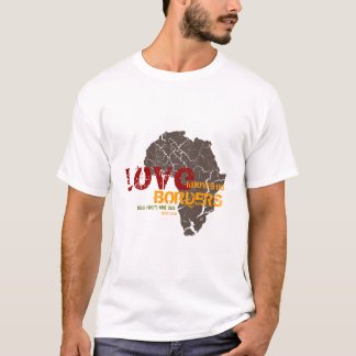 Love Knows No Borders - Adoption Customizable T-Shirt