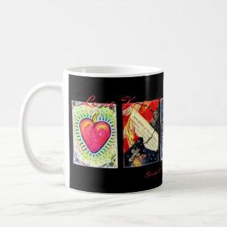 """Love Knows No Boundaries"" Classic White Coffee Mug"