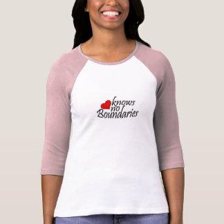 Love Knows No Boundaries T Shirts