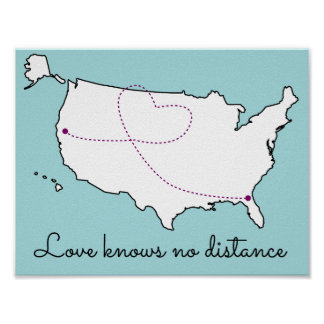 Love Knows No Distance Poster