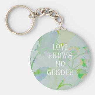 Love Knows No Gender Keychain