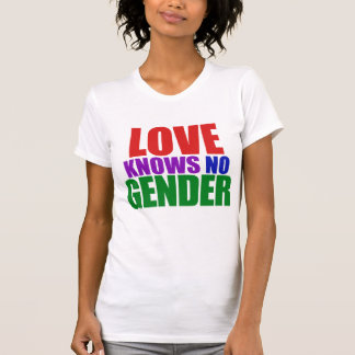 Love Knows no Gender T-shirts